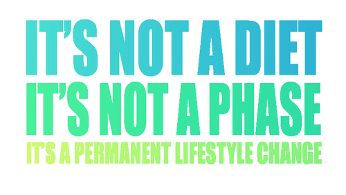 not a diet or a phase
